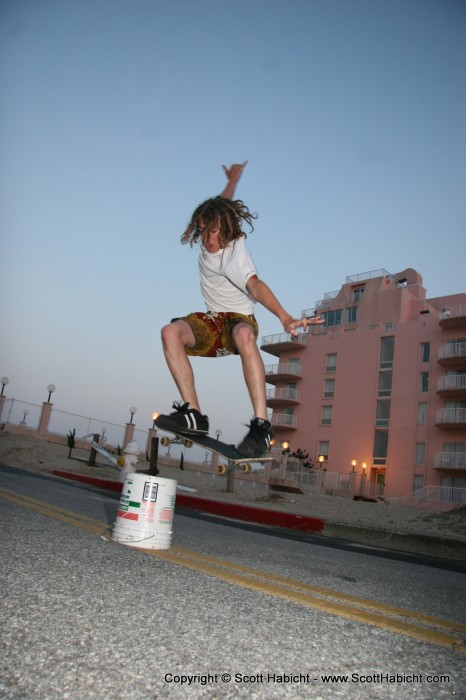 Down in OC to see G-13, and I ran into some skaters.