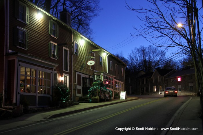 For St. Patrick's Day we headed to The Diamonback Tavern in Ellicott City.