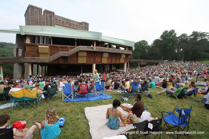 At Wolf Trap.