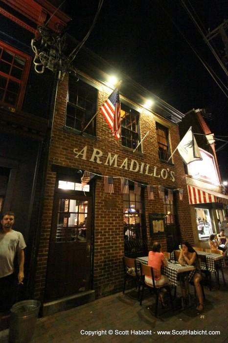 Armadillo's.