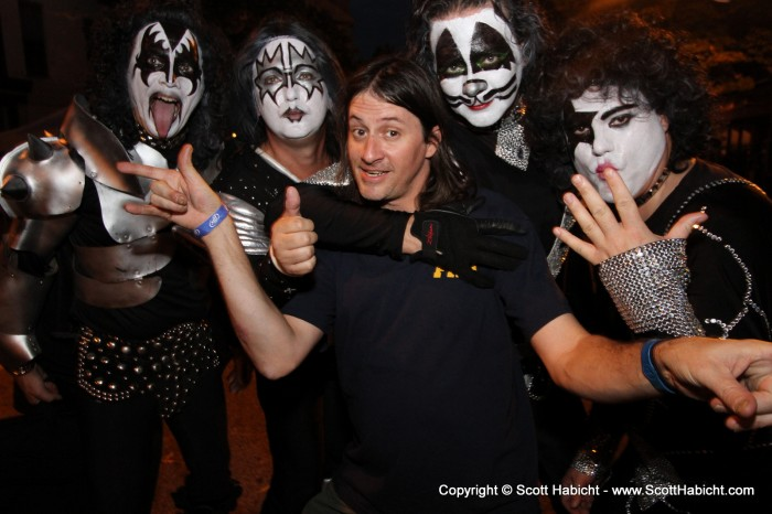 John is the road manager for the KISS cover band, Rock Bottom.