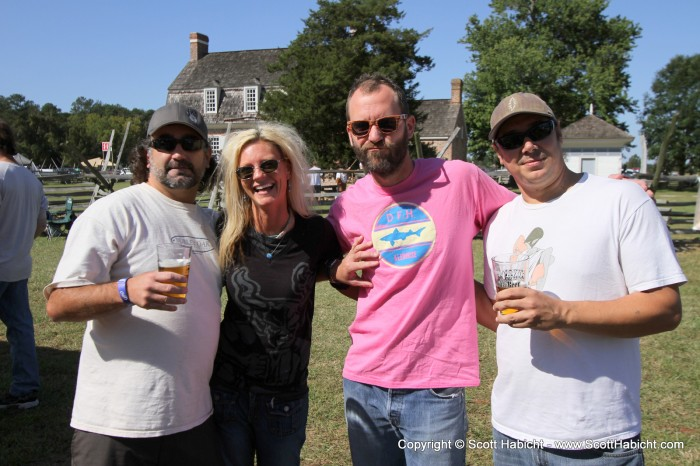 We met up with some Eastern Shore friends to share in the fun.