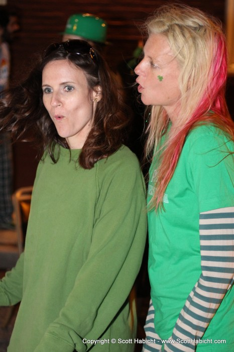 """Out with Kelli and Kristi at a Can't Hang show. See the album, """"Can't Hang @ Quigley's Half-Irish Pub - Baltimore, MD"""" for the rest of those pictures."""
