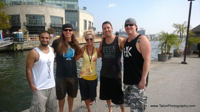 Another night in Baltimore and we got to meet the members of Rebelution.